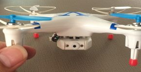 Buy a mini-drone and estimate your skills in flying